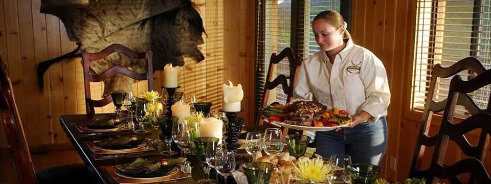 Dining At Cherry Creek Lodge