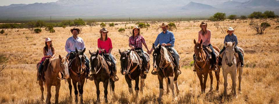 Trail Riding At Elkhorn Ranch