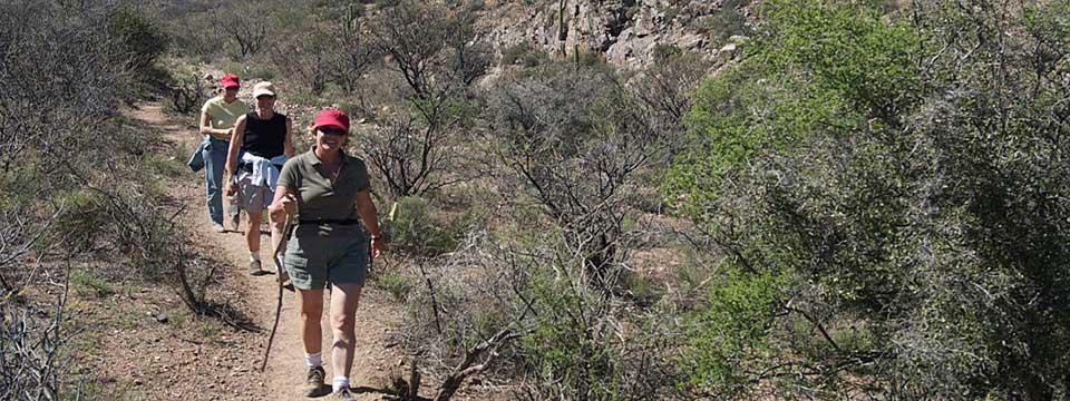 Hiking At Elkhorn Ranch