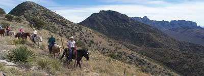 Mountain Riding at Elkhorn Ranch